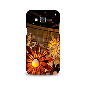 Mikzy Beautiful Sunflowers Pattern Printed Designer Back Cover Case for Samsung J5