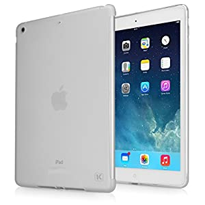 KAYSCASE Slim Soft Gel Smart Cover Compatible Back Cover Case for Apple iPad Mini (Frost Clear)