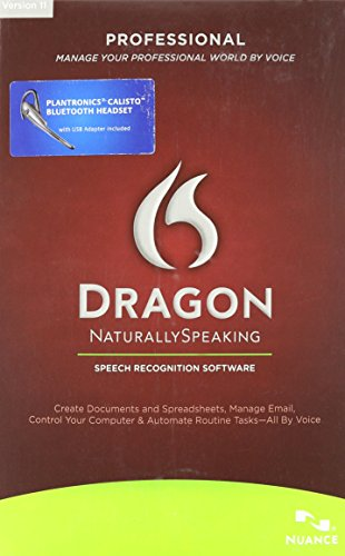 Dragon Naturallyspeaking Professional 11.0 English Bluetooth