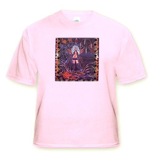Little Medicine Spider Witch - Youth Light-Pink-T-Shirt Small(6-8)