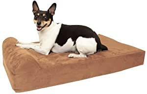 Amazoncom big barker mini 4quot pillow top orthopedic for Big barker dog beds amazon