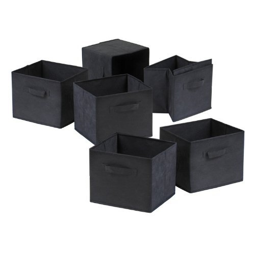 capri-foldable-fabric-baskets-set-of-6-black