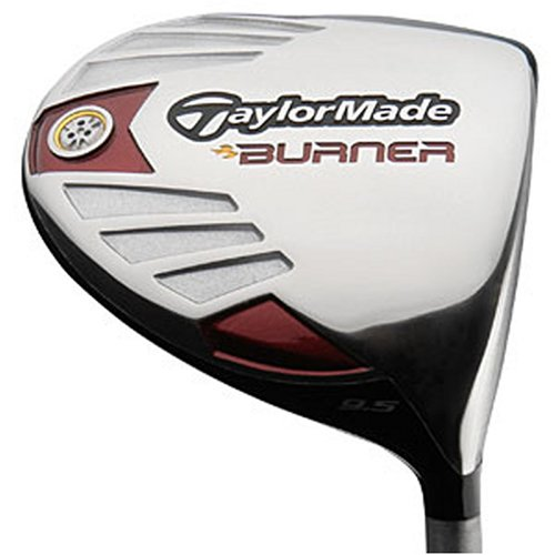 TaylorMade Men's Burner 460 Ti Driver (Right-Handed, 10.5 Degree Loft, RE-AX SuperFast 50 Graphite Stiff Shaft)