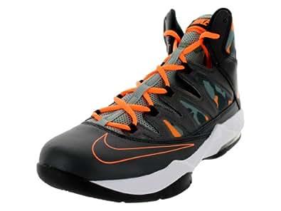Nike Men's Air Max Stutter Step Blk/Atmc Orng/Mc Grn/Dk Mc Grn Basketball Shoe 11.5 Men US