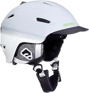 salomon casque de ski patrol gris grey matt 54 55 amazon. Black Bedroom Furniture Sets. Home Design Ideas
