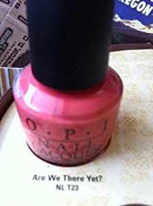 Opi Are We There Yet? (Opi Touring America Collection)
