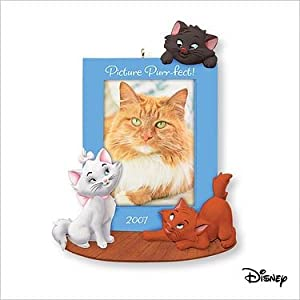 Disney's The Aristocats Picture Purr-fect Christmas Photo holder 2007