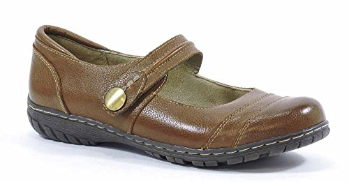 Naturalizer Women's Rhode Mary Jane Flat,Banana Bread,7.5 M US