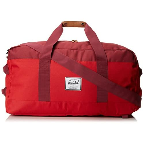 [ハーシェルサプライ] Herschel Supply Outfitter Luggage 10040-00453-OS Red/Burgundy/Rust (Red/Burgundy/Rust)