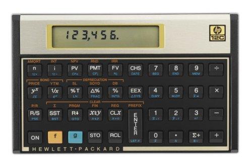 HP 12c Financial Calculator (12C#ABA)