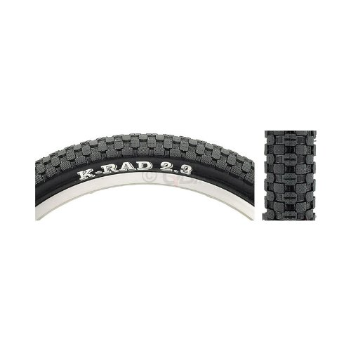 Kenda K-Rad Standard BMX/Mountain/Commuting Bike Tire (Standard, Wire Beaded, 24x2.3)