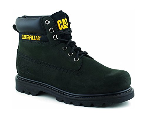 Caterpillar boys Caterpillar Boys Colorado Leather Boots Black Black Leather UK Kids Size 11 (Caterpillar Boots For Kids compare prices)
