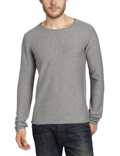 Selected Homme Sun crew neck NOOS Men's Jumper Light Grey Melange X-Large