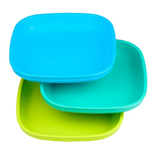 Re-Play 3pk Flat Plates (Under The Sea)