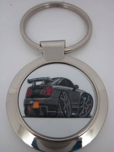 Koolart Nissan Skyline Car Keyring 1988 - Christmas