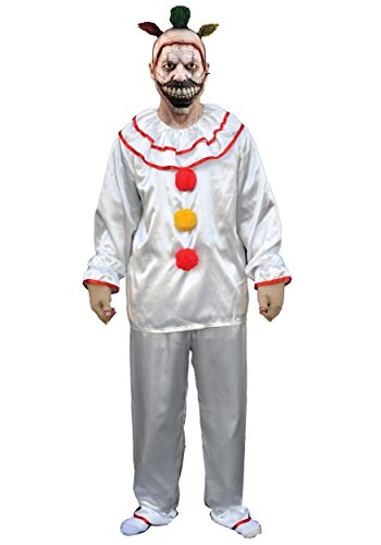 Men's American Horror Story-Twisty The Clown Costume, Multi, One Size