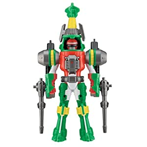 Power Rangers Operation Overdrive Green Turbo Drill Power Ranger