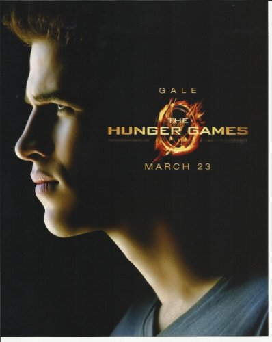 The Hunger Games Liam Hemsworth as Gale Hawthorne Poster FULL/No Borders 8 x 10 Photo