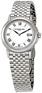 Raymond Weil Women's 5966-ST-00300 Tradition White Dial Watch