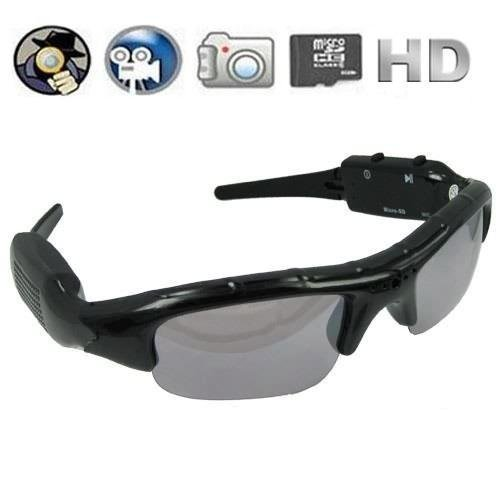Pinhole Hidden Video Recorder DVR Sunglasses Camera w/ Micro SD Slot Expandable to 16gb