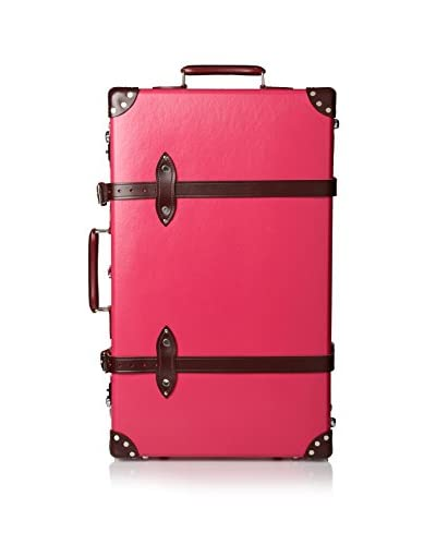Globe-Trotter Special Edition 28″ Candy Trolley Case W/N, Pink/Burgundy