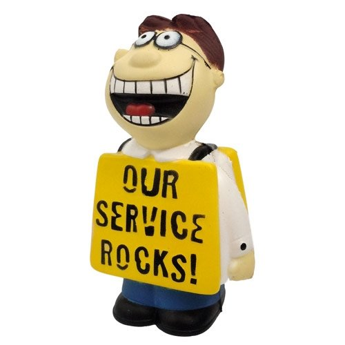 Talking Stress Ball – Our Service Rocks