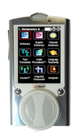 Ectaco NTL-13MT iTRAVL Black Talking 2-Way Multilingual Communicator and Electronic Dictionary
