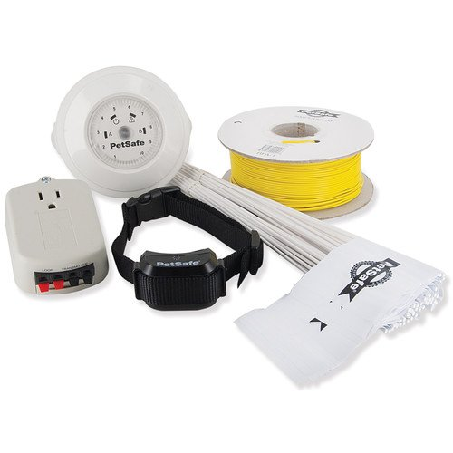 New Set Of Dog Electric Fence/Containment System W Waterproof Receiver Collar