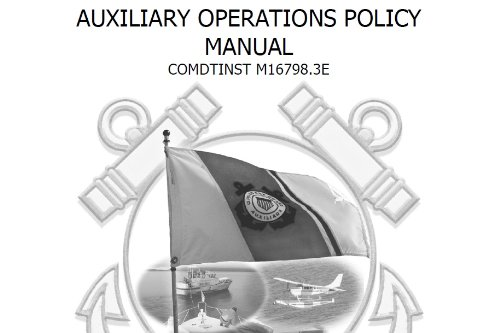 AUXILIARY OPERATIONS POLICY PDF