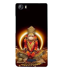 Lord Hanuman 3D Hard Polycarbonate Designer Back Case Cover for Micromax Canvas 5 E481