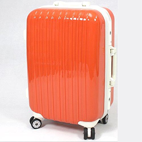 TSAロック搭載スーツケース1301【橙/S】/ZF-G1301-OR-S/###ケースG1301-S橙###