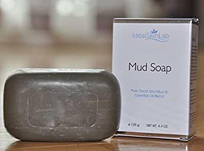 Best Dead Sea Mud Soap - ON SALE TODAY - All Natural, Gentle and Effective Facial, Hand and Body Cleansing Soap Bars - 100% Genuine Dead Sea Mud Plus Blend of All Natural Oils - Exfoliates, Cleanses, Hydrates and Nourishes Skin - For All Skin Types - #1 F