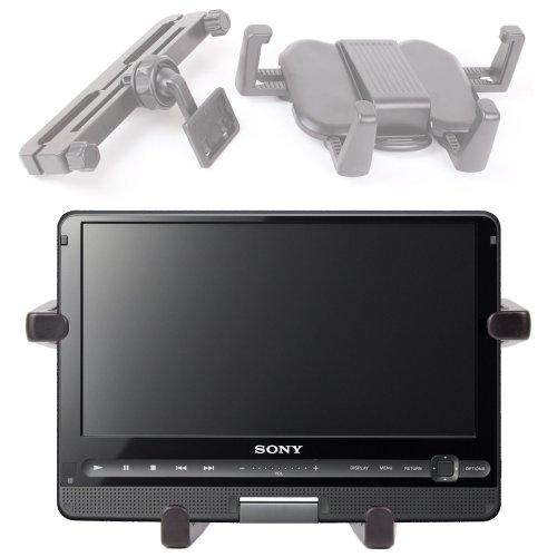 Duragadget 'Travel' Extendable Car Headrest Mount For Sony Dvp-Fx930, Dvp-Fx950 & Sony Dvp-Fx780 front-916928