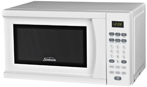 Learn More About Sunbeam SGS90701W 0.7-Cubic Feet Microwave Oven, White