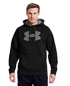 Under Armour Men's Armour® Fleece Storm Big Logo Hoodie Large Black