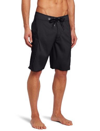 Volcom - Mens Anialtr Solid Boardshorts, Size: 32, Color: Black