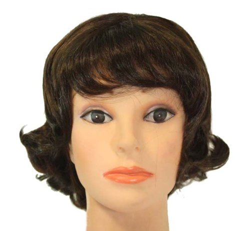 Halloween Costumes For Women With Short Hair 10 Short Chestnut Brown curls synthetic wig