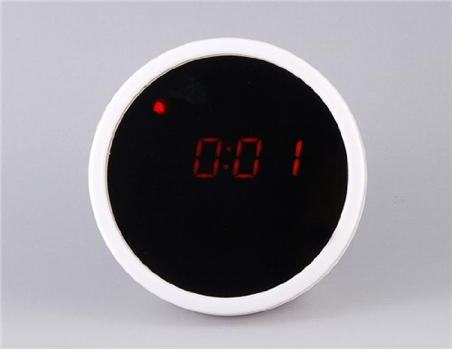 Unique Mirror Led Clock (White)(Shipping From China)