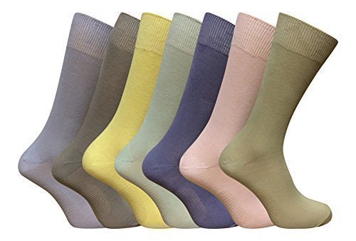 marks-and-spencer-7-pairs-of-mens-freshfeet-cotton-socks-pastel-colours-10-12-uk-44-47-eur