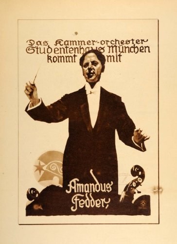 1926-photogravure-hohlwein-chamber-orchestra-conductor-munich-german-poster-art-original-photogravur