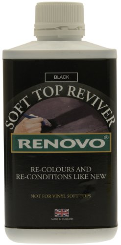 Renovo RHRBLA5001115 Soft Top Reviver 500 ml - Black