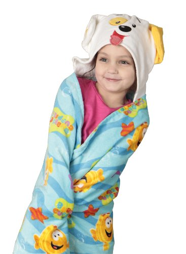 Nickelodeon Bubble Guppies Toddler Hooded Towel front-29634