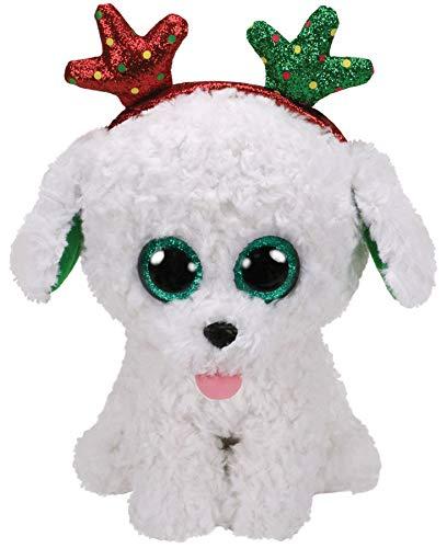 Ty T36683 Sugar Dog Boo Xmas 2019, Multicolored (Color: Multicolored, Tamaño: 6 inches (15 cm))