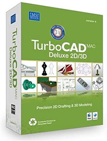 TurboCAD Mac Deluxe 2D/3D V.4 [Old Version]
