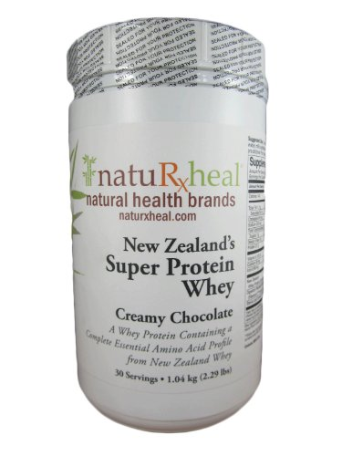 New Zealand'S Super Protein Whey Creamy Chocolate Flavor 1.04 Kg.