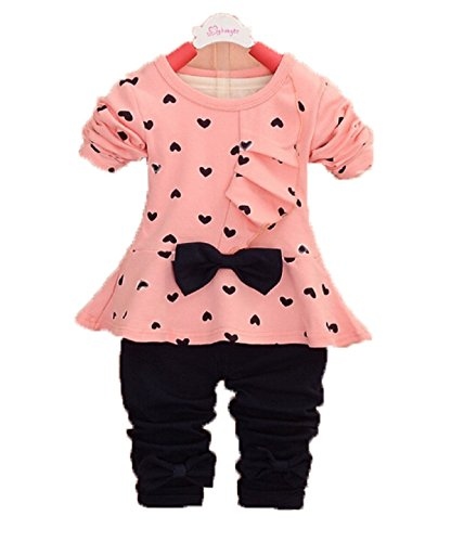 Girls Baby Sets 3PCS Sleeveless Shirt/Tops + Floral Pants + Headband Vogue Clothes