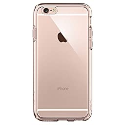 iPhone 6s Case, Spigen® [Ultra Hybrid] AIR CUSHION [Rose Crystal] Clear back panel + TPU bumper for iPhone 6 (2014) / 6s (2015) - Rose Crystal (SGP11722)