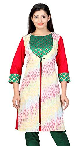 Lifestyle Lifestyle Retail Women A-Line Kurta (Multicolor)