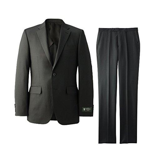 タケオキクチ(TAKEO KIKUCHI) スーツ「DORMEUIL84」シャドーストライプスーツ)【019ブラック/L】