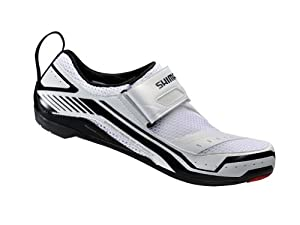 Shimano 2014 Men's Triathlon/Multi-Sport Cycling Shoes - SH-TR32 (White - 41)